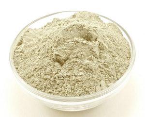 bentonite - بنتونیت در ظرف