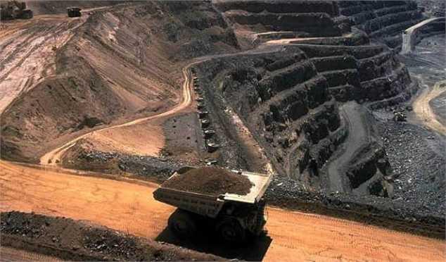 کامیون حمل مواد معدنی - سرمایه گذاری در معدن