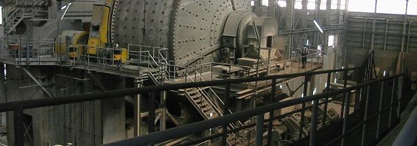 کارخانه های فرآوری معدنی